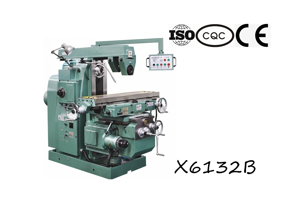 X6132b Universal Knee-Type Milling Machine