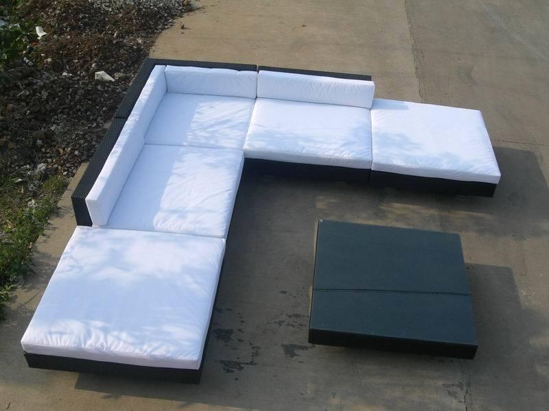 rattan furniture outdoor furniture rattan sofa big. Black Bedroom Furniture Sets. Home Design Ideas
