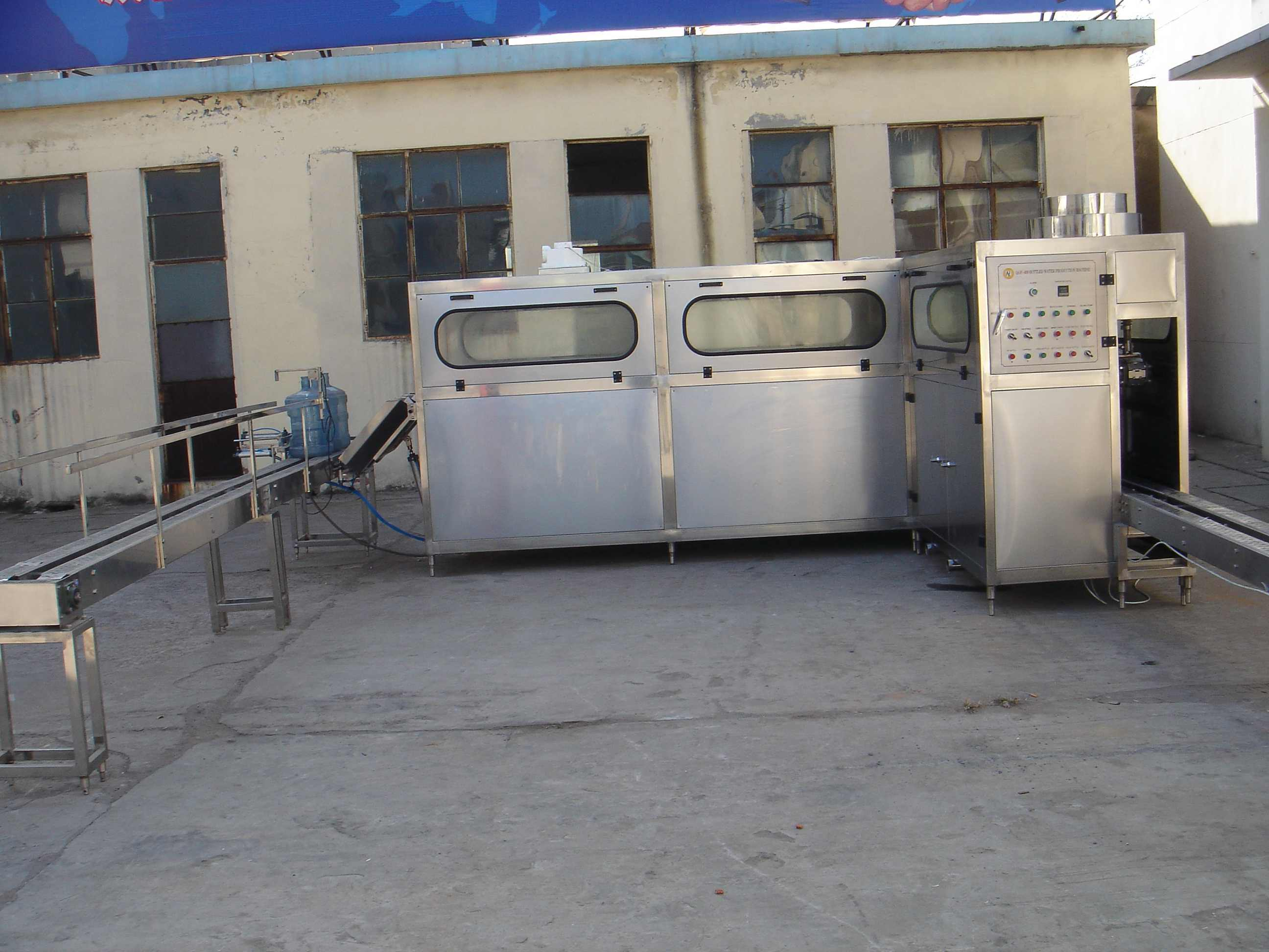 Series Full-Automatic 5 Gallon Barrel Filling Machine