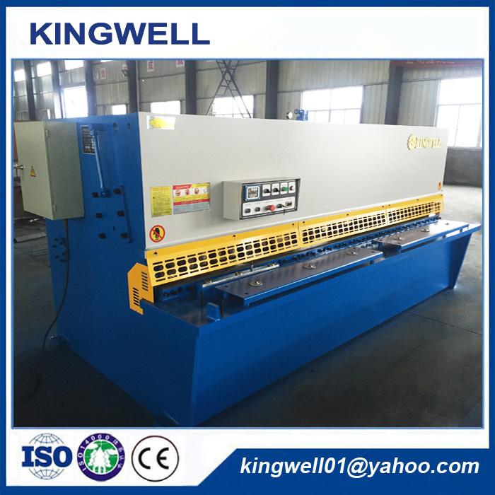 Automatic Hydraulic Metal Sheet Shearing Machine (QC12Y-8X3200)