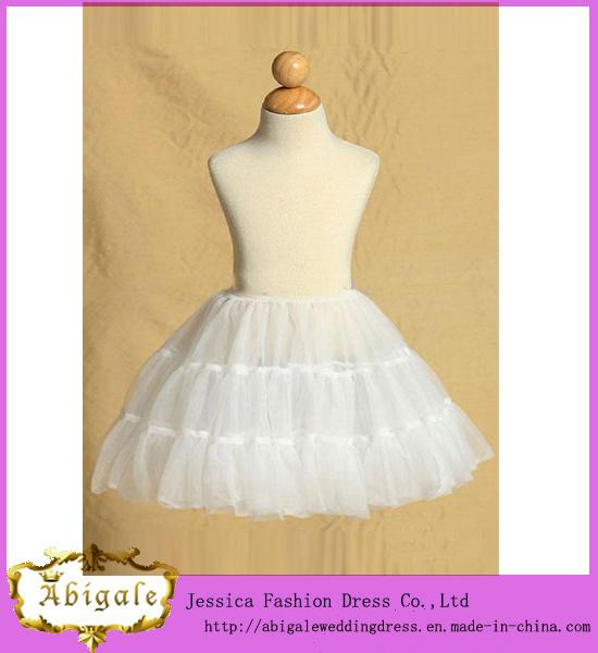 2014 New Designs White A Line Big Tulle Wedding Dress Petticoat Yj0150