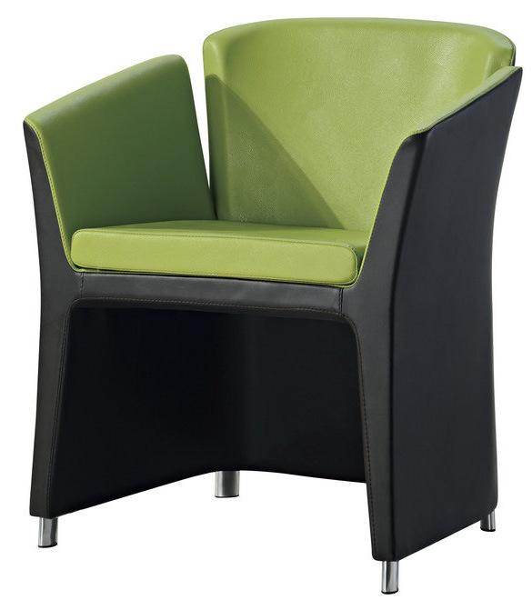 Vinyl Office Sofa Chair for Reception Area