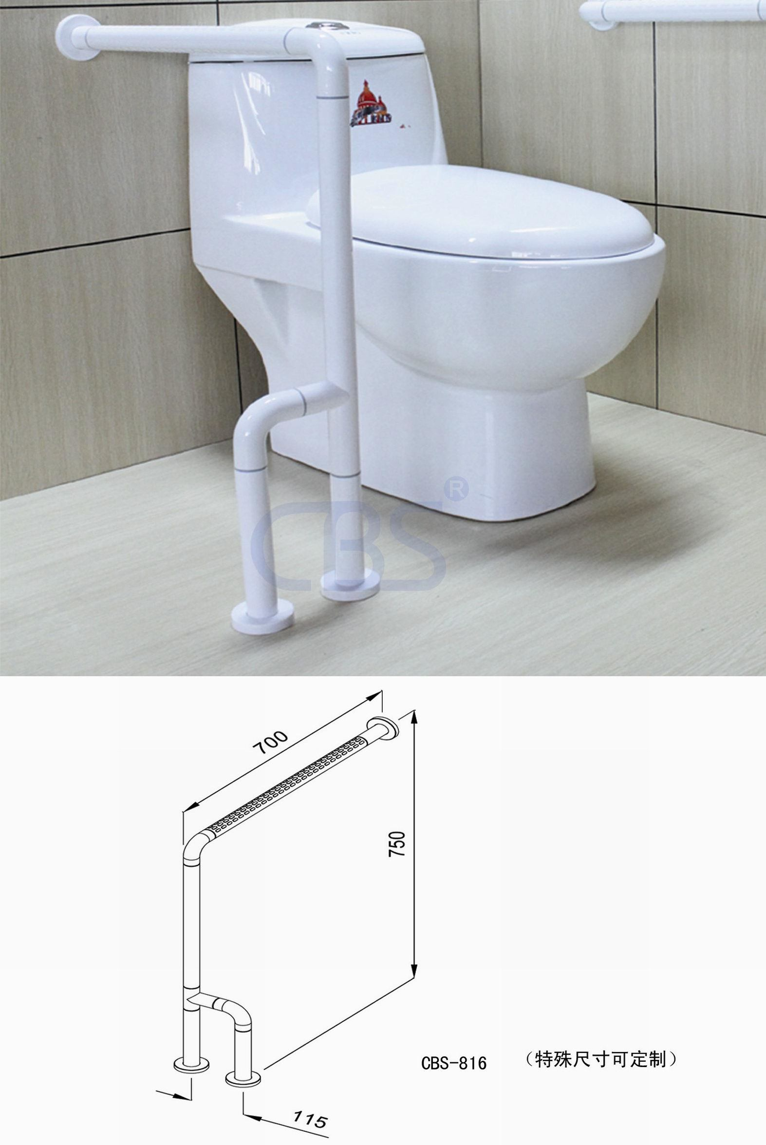 Handicap bars for bathrooms