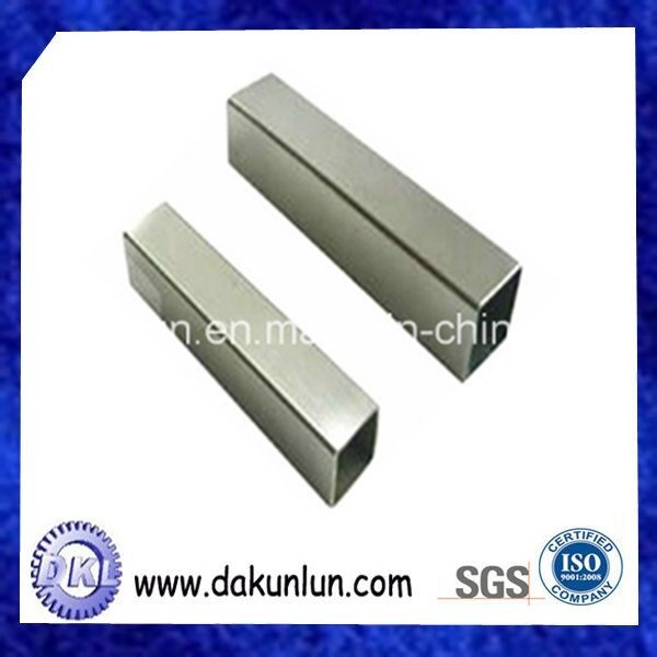 Custom Steel/Aluminum/Brass Threaded Tube /Pipe with Good Price