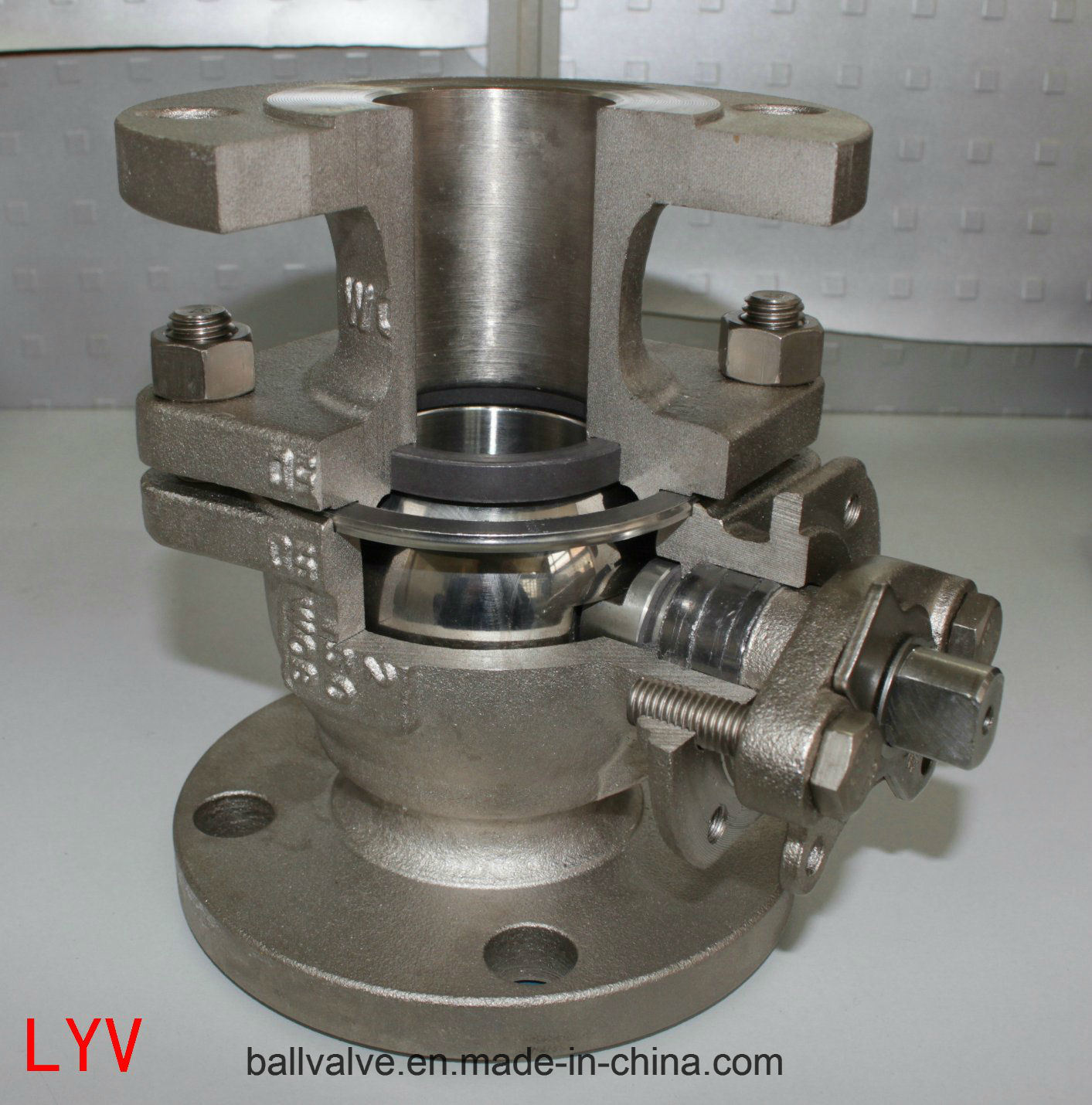 ANSI Flanged Floating Stainless Steel Ball Valve