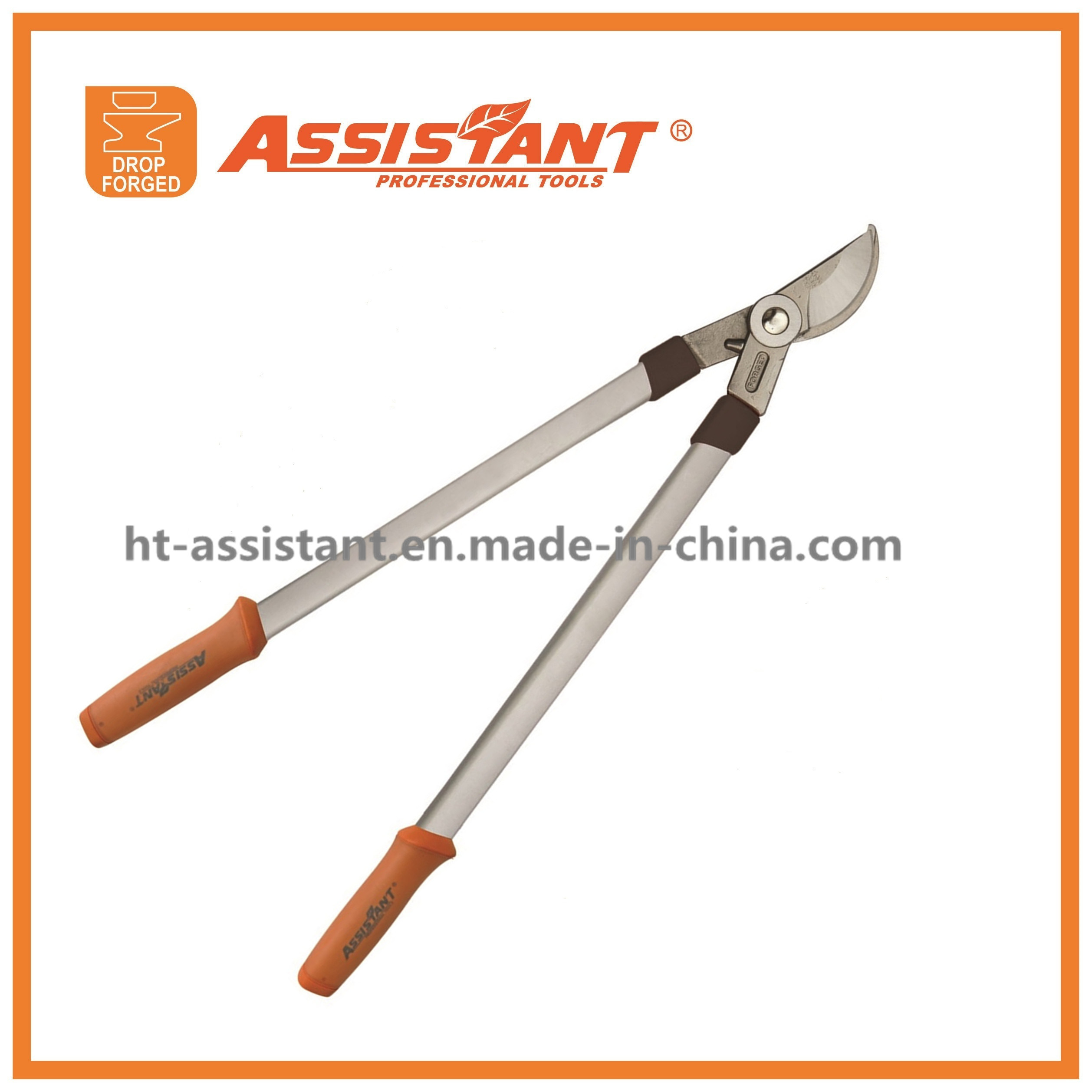 Drop Forged PTFE Coated Blade Bypass Loppers with Aluminum Handles