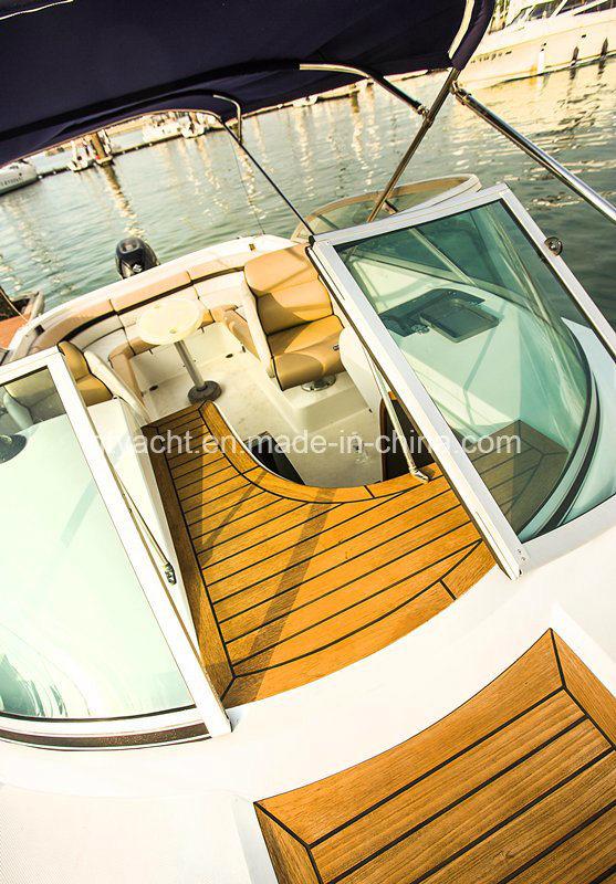 22′ FRP Sporty Leisure Speedboat Hangtong Factory-Direct