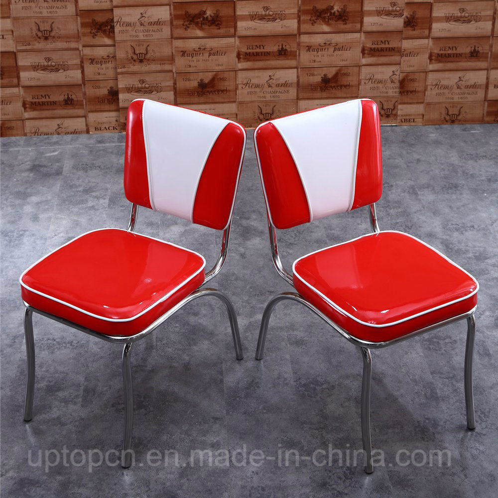 Antique 1950s American Style Restaurant Chairs and Tables (SP-CT833)