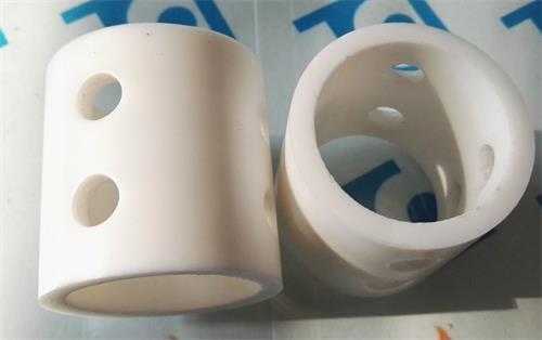 PTFE Plastic Pall Ring 38mm X 2mm X 38mm