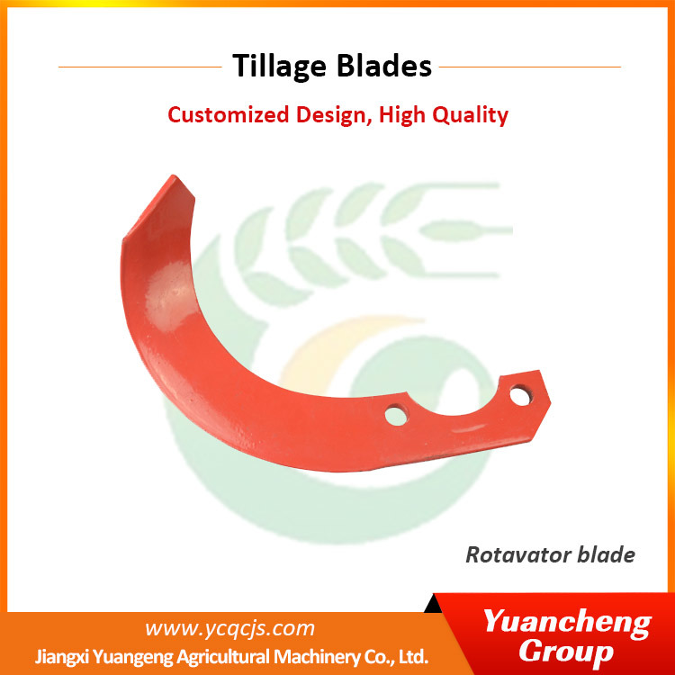 Jiangxi Tractor Parts Equipment Machine Automatic Side-Shifting Rotary Tiller Blades