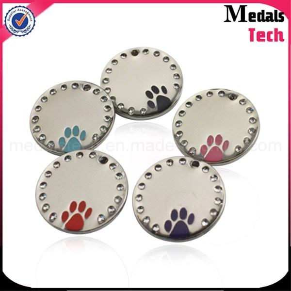 Die Cast Zinc Alloy Antique Silver Custom Dog Tags