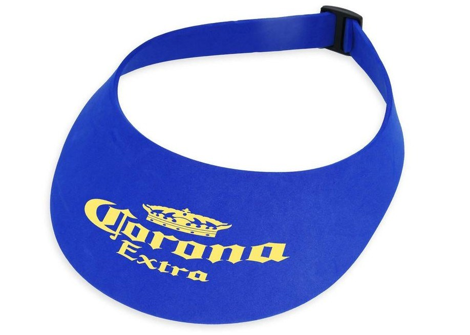 Adjustable Foam Sun Visor Cap with Customized Logo
