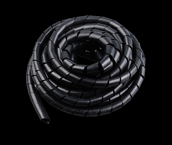 PE Cable Tidy Wire Storage Cable Organizer Spiral Zip Wrap
