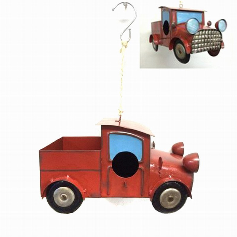 Cute Metal Decoration Trunk Birdhouse for Garden