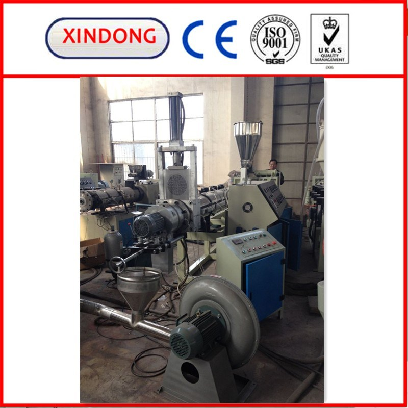 500kg/H PVC Granulator PVC Recycling Pelletizing Machine