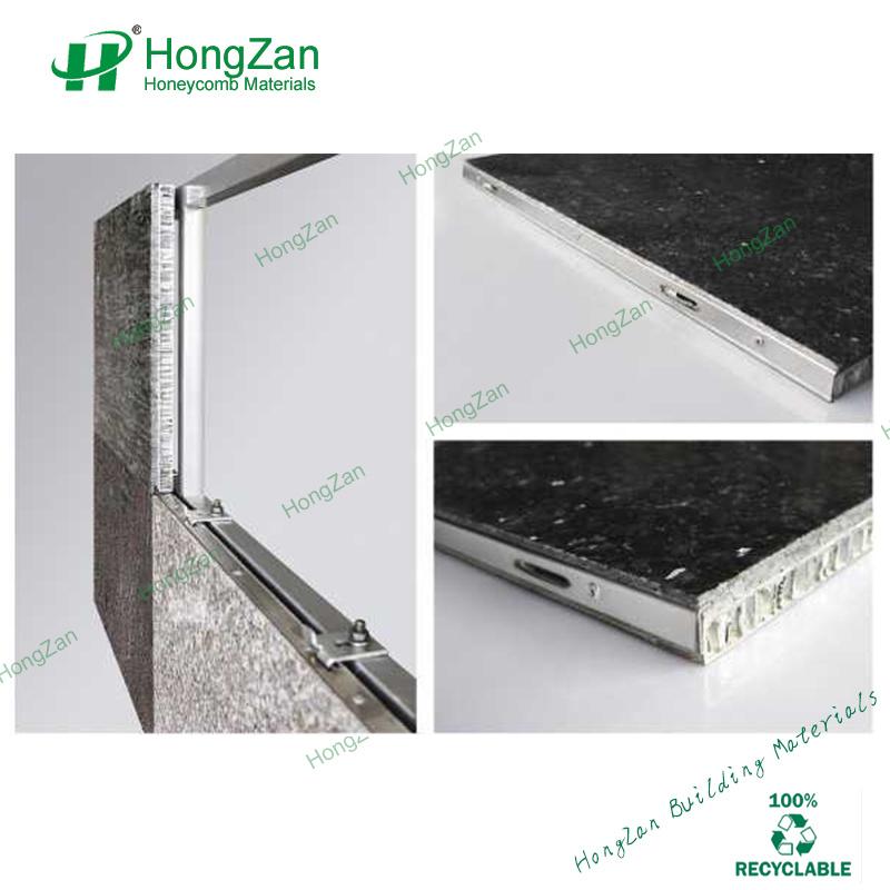 Granite Stone Honeycomb Panel with Waterproof for Household Bathroom Wall Panel