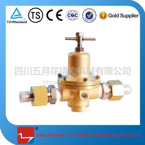 Cryogenic Vehicle Gas Cylinder Pressure Regulator Valve for LNG