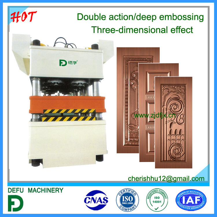 Double Action Vertical Hydraulic Press