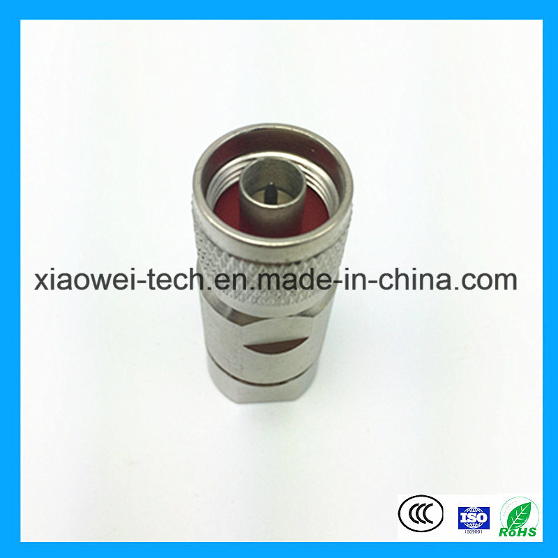 1/2 DIN Wire Male BNC Coaxial Connector