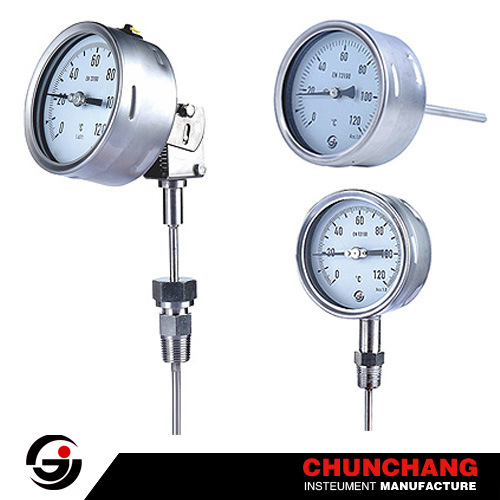 Capillary Thermometer Gas