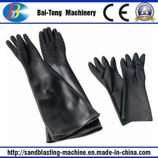 Sandblasting Sandblast Rubber Gloves (L6500)