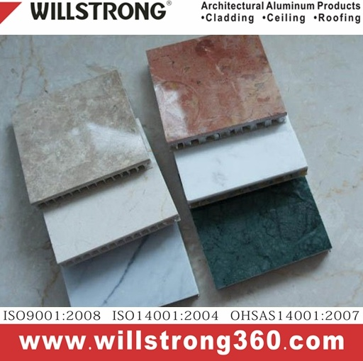 Multicolor Aluminum Honeycomb Panel for Building Material