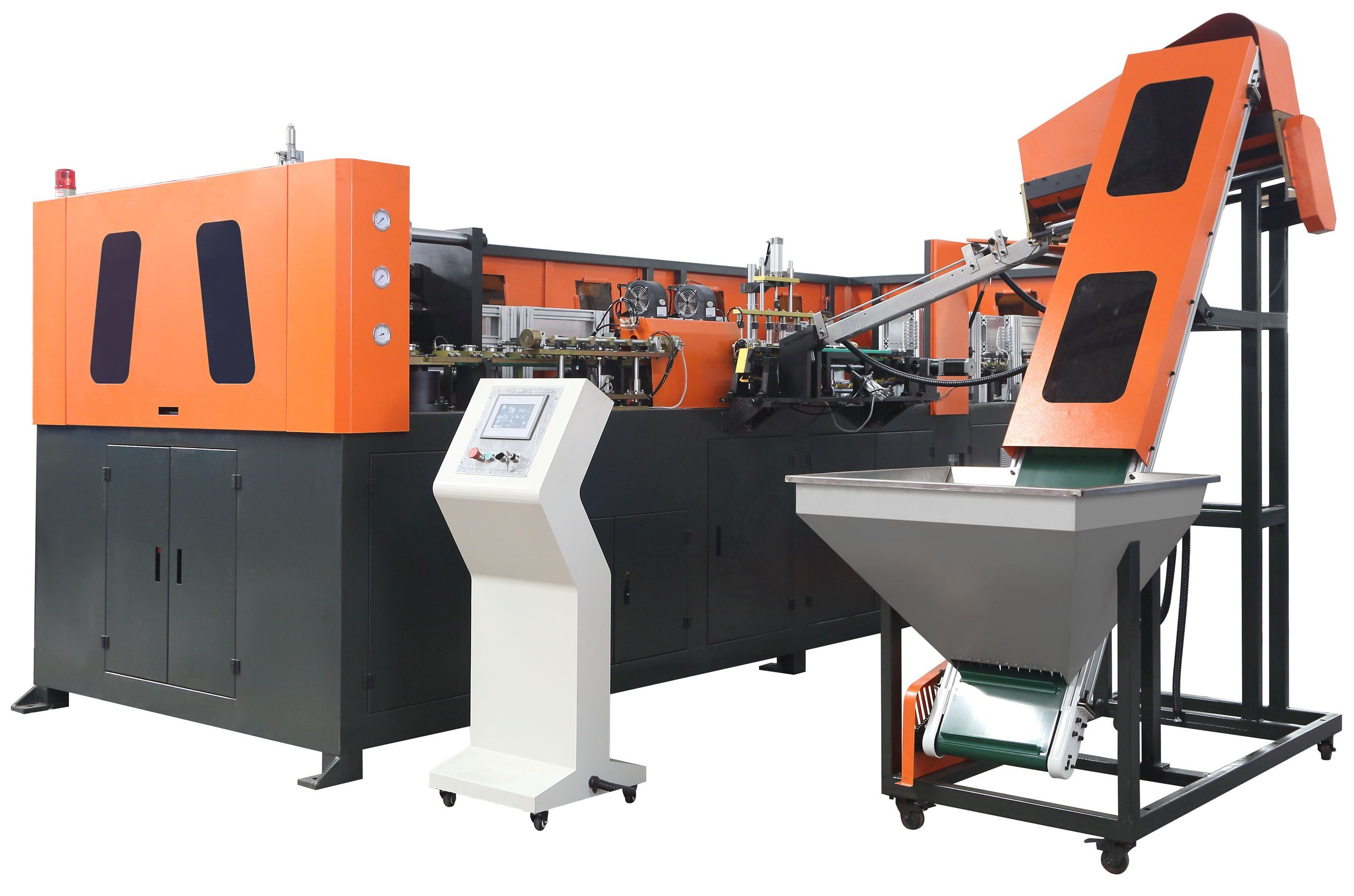 2000bph 4 Cavity Plastic Pet Bottle Blow Molding Machine