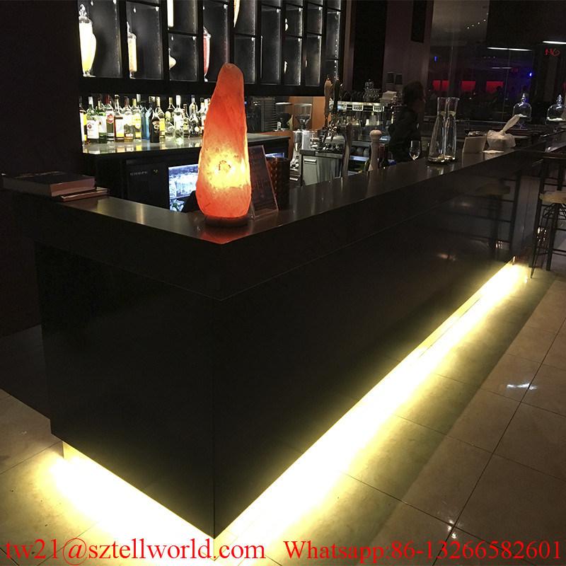 Illuminate Onyx Marble LED Restaurant Bar Furniture Restaurant Counter for Sale