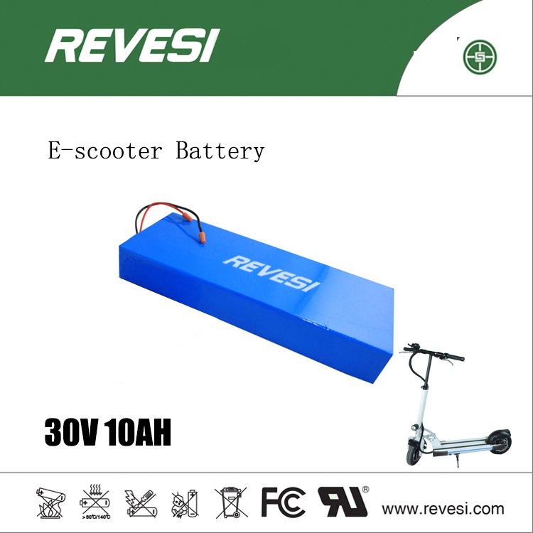 36V 10ah Lithium Rechargeable Battery for 2 Wheel Electric Scooter