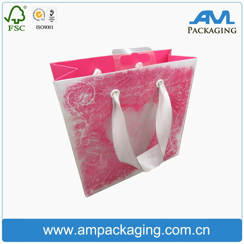 Bespoke Paper Bag Custom Shopping Folding Kraft Gift Bag Design