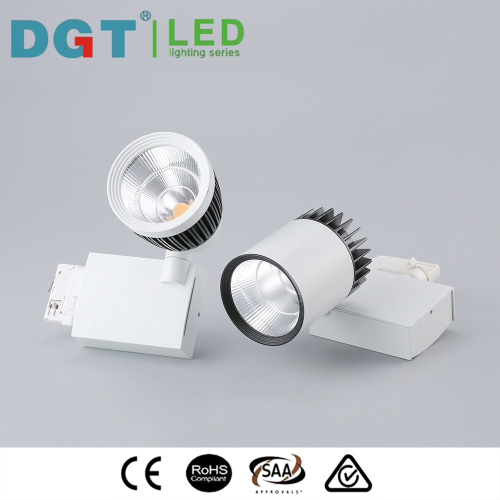 30W Commercial Narrow Beam Angle LED Tracklight