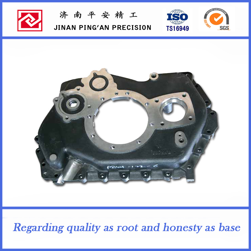 Cast Iron Part Front Shell of Gearbox for Heavy Trucks