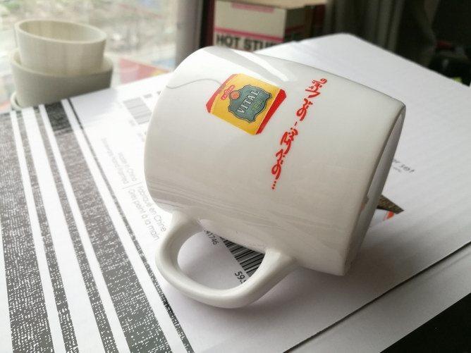 Hot-Selling Brilliant White Porcelain Vital Tea Cup for Promotion