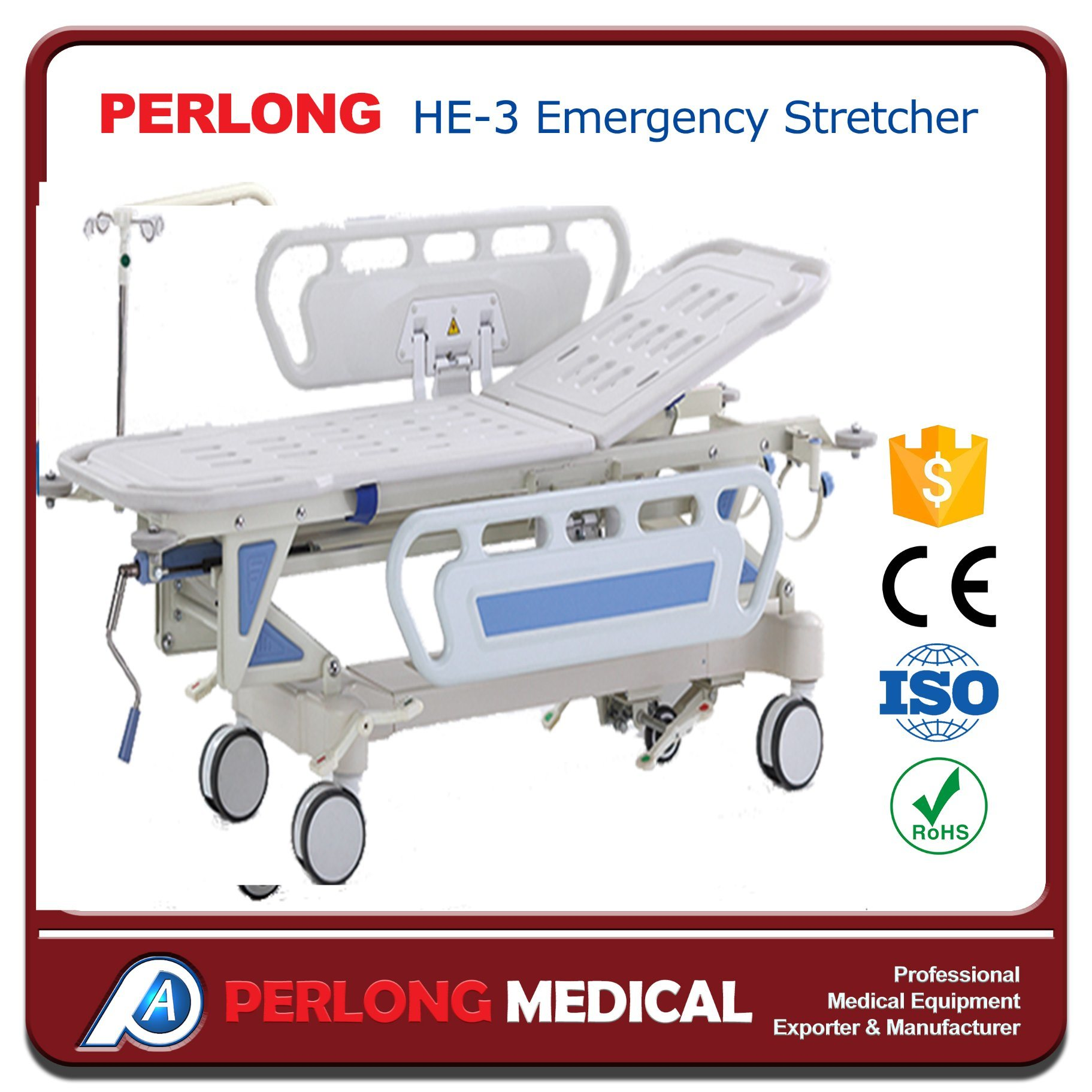 Factory Directly Sell Emergency Stretcher He-3
