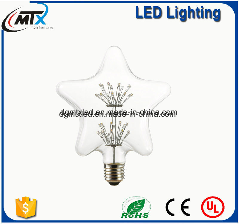 E27 LED bulbs LED light bulbs for home MTX LED tube lights Warm White Energy Saving 3W LED Decorative Babysbreath Bulb
