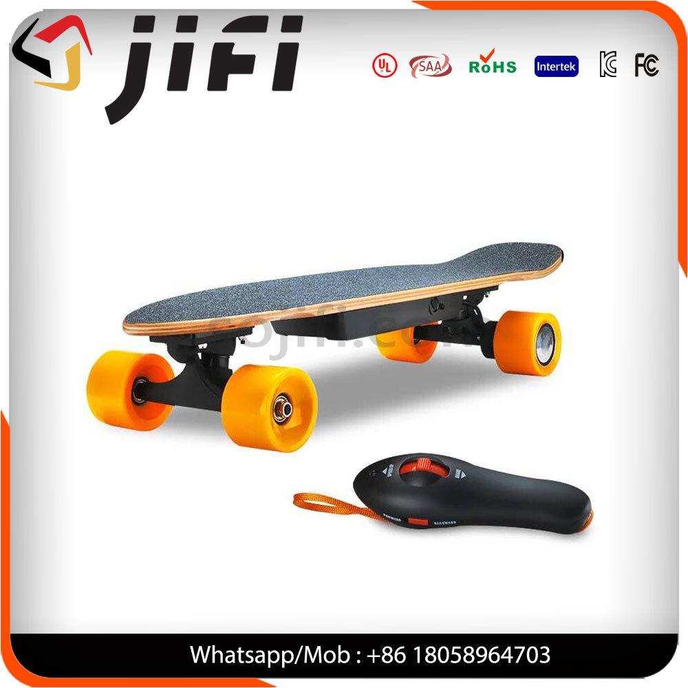 Jifi Maple Wood Longboard Electric Skateboard with Remote Control