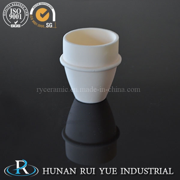 High Temperature Purity Ceramic Crucible Alumina Crucibles Boat for Tube Furnace