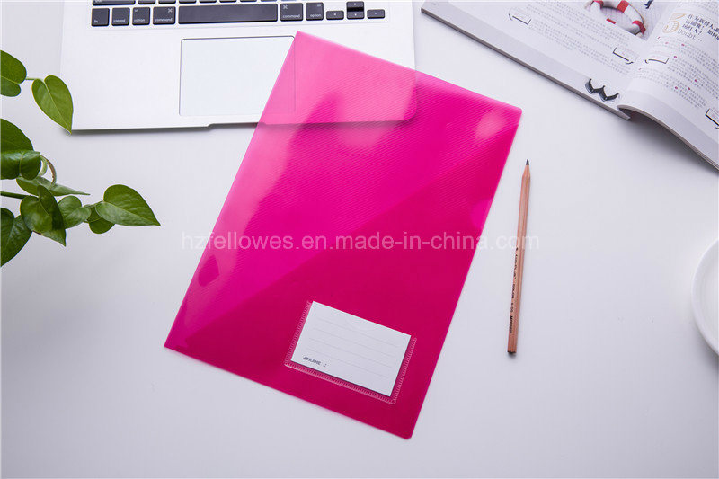 A4 Colorful L Shape File Folder Cover