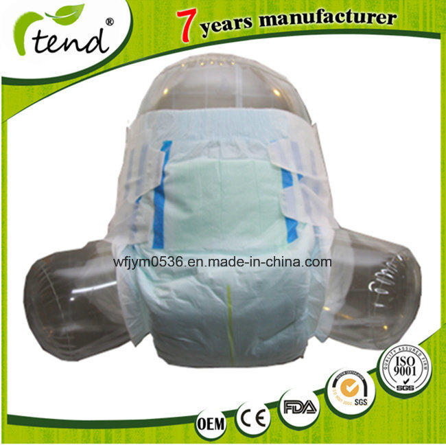 OEM XXL Japanese Diaper Clean Care Adult Diaper with Velcro Tapes