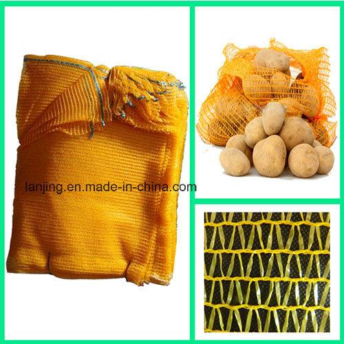 Breathable Woven Bag Mesh Bag for Potato Onion Vegetable Storage and Transportation