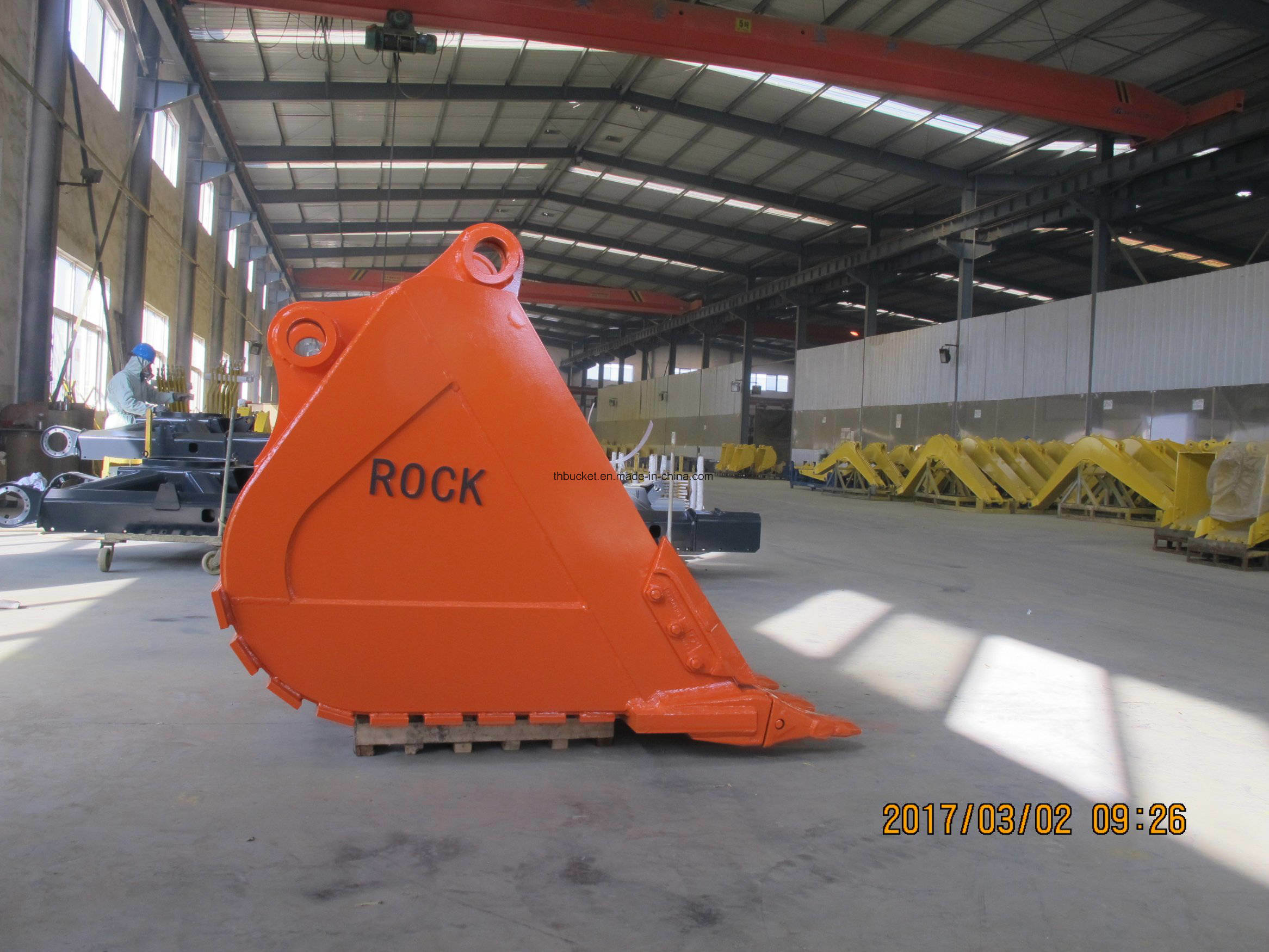 Excavator Buckets Assy Standard and Heavy Duty Rock Buckets Ex360 Bucket