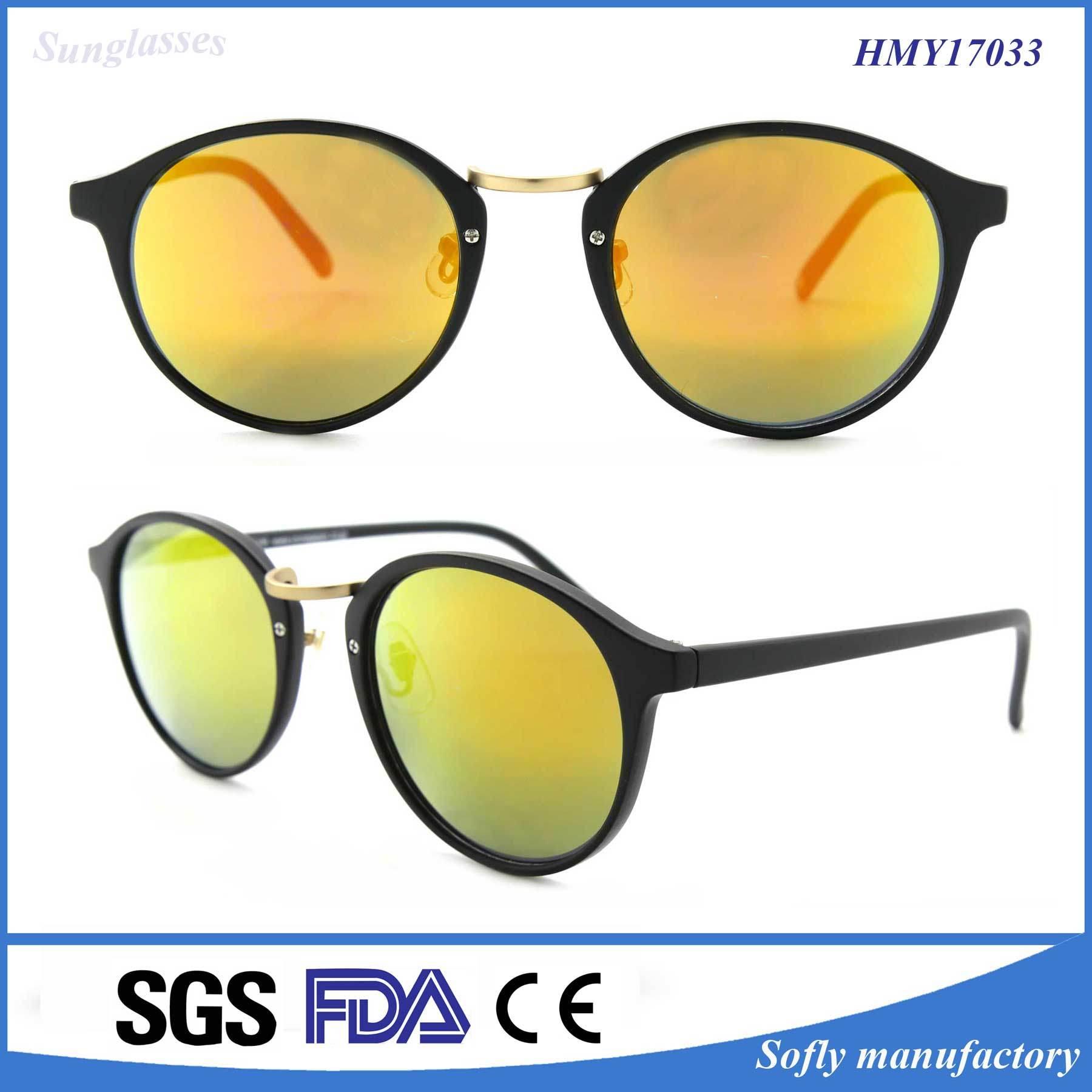 Luxury Italy Design Ce UV400 Polarized PC Sunglasses