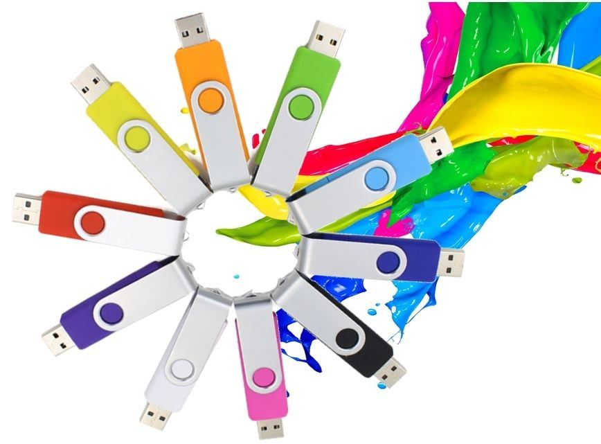 Colorful Twister USB Flash Pen Drive Most Popular Gift