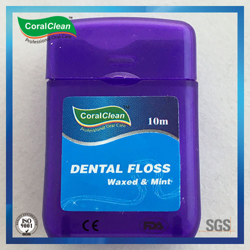 15m Waxed & Mint Square Dental Floss