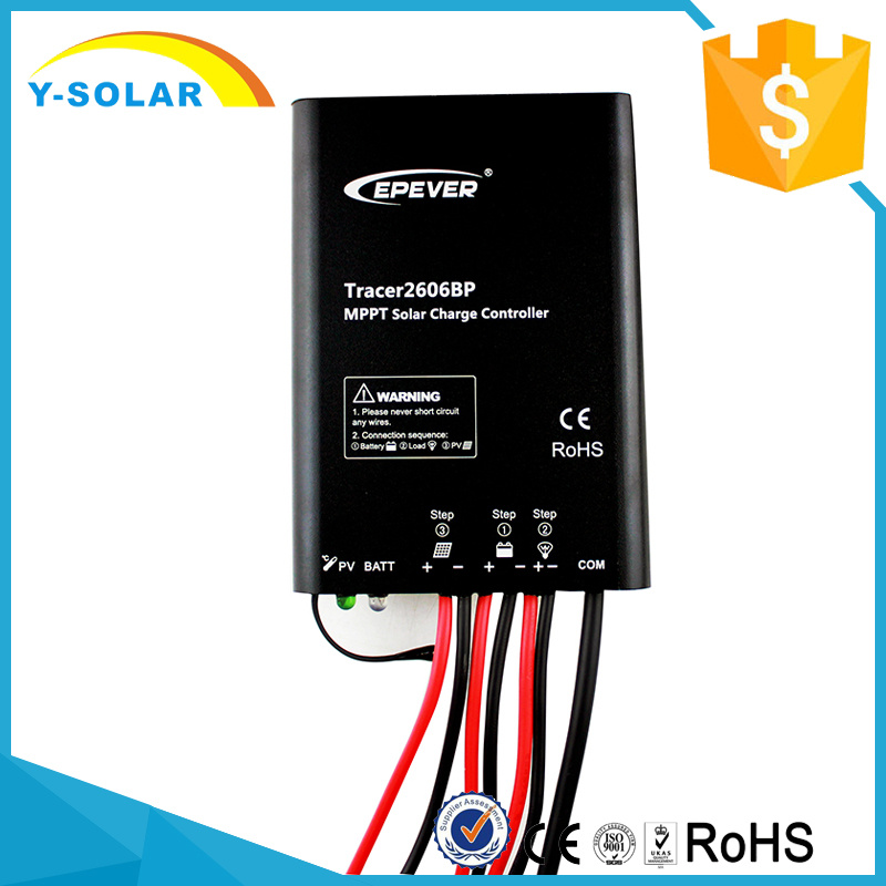 15A Epsolar 12V/24V MPPT Lithium Battery Tracer3910bp Solar Controller