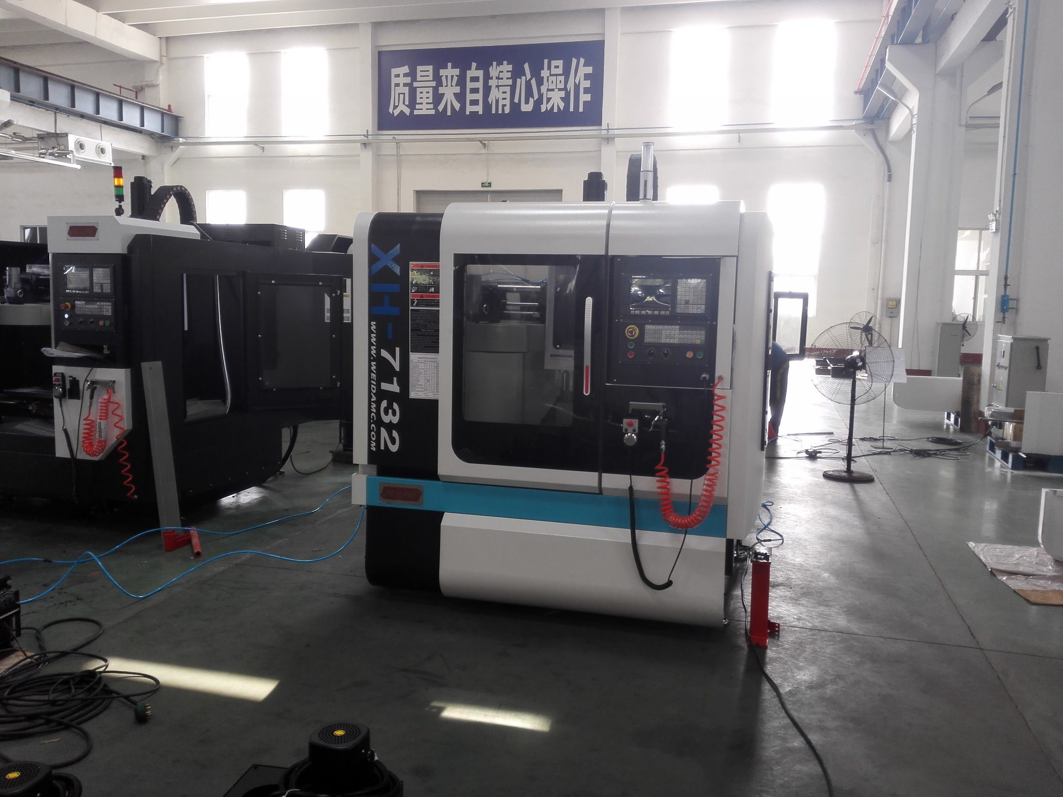 (XH7132A) Good Quality 3 Axis CNC Vertical Machining Center