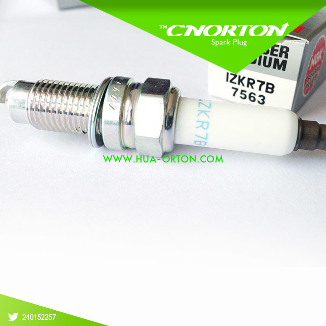 Ngk Laser Iridium Spark Plugs for Audi Porsche VW IZKR7B 7563