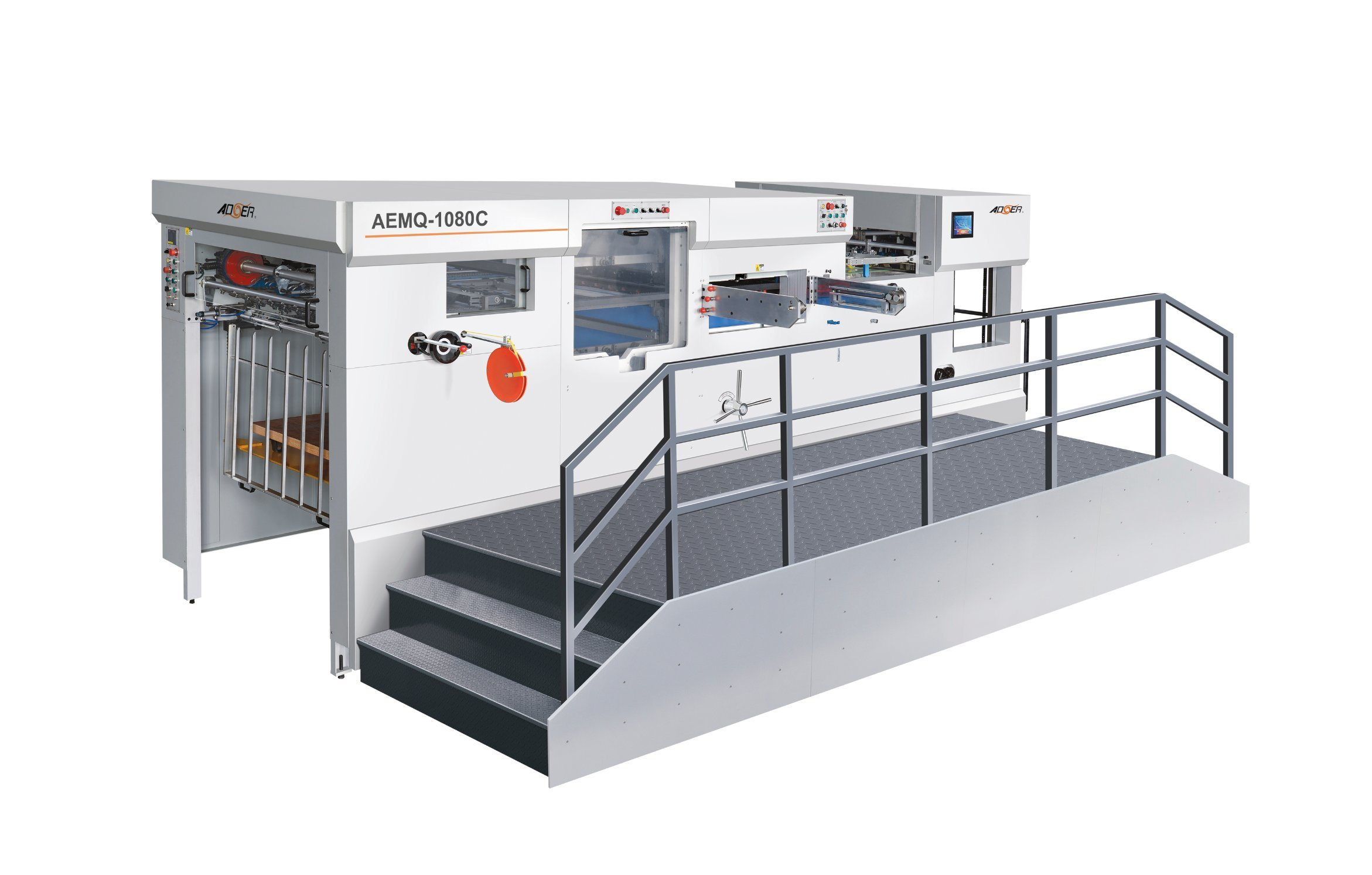 AEM-1080Q Automatic Die Cutting Machine with Stripping Unit