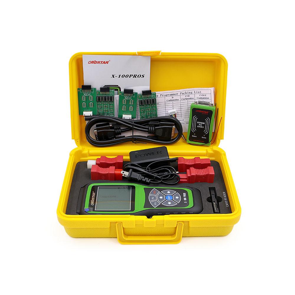 Obdstar Auto Key Programmer X100 Pros C + D Odometer Correction Tool