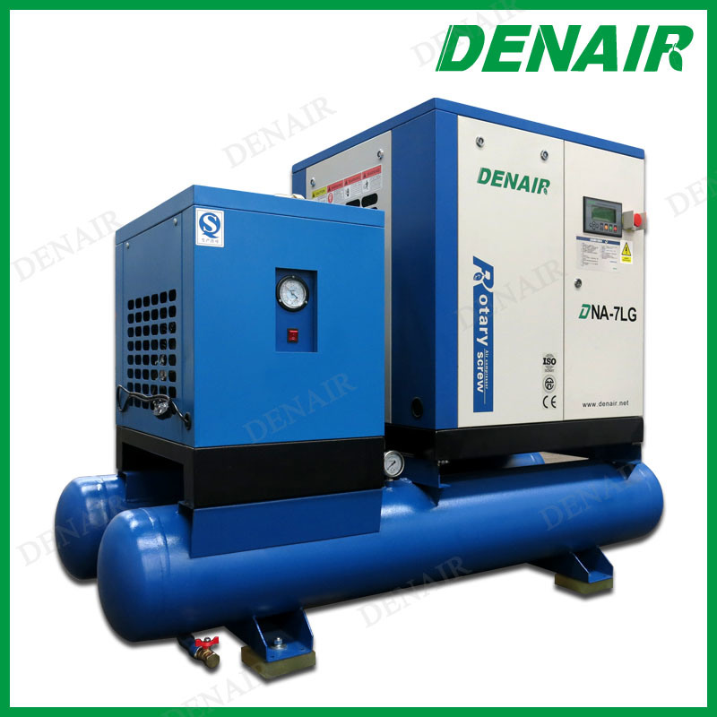 Similar Ingersoll Rand Oil Injected Air Cooled Combined Screw Air Compressor